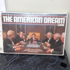 Vintage 1979 Deadstock American dream board game